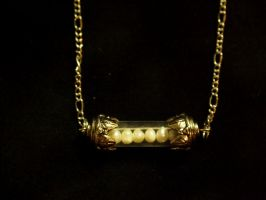 Pearl Treasure Necklace by TheJugulateJeweler