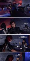 Samantha And Femshep In - Smelly Business by Rastifan