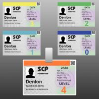SCP member card by KirilloTR0N