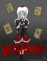 Slender Diaries: Comic Cover by InvaderIka