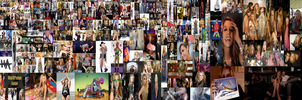 Ke$ha Collage by PonAndZiArt