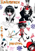The Chibi Monters by Loves2LucyD19