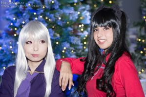 Illya and Rin by Hitomi-Cosplay
