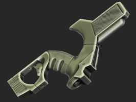 SF Rifle - Grip Detail by hsholderiii