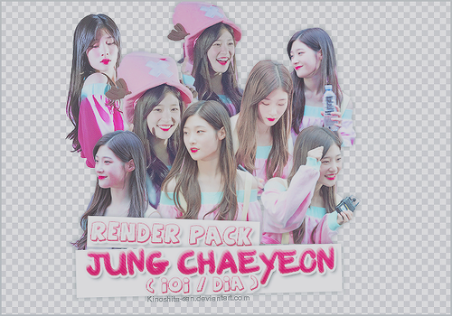 SHARE PNG PACK #17 - JUNG CHAEYEON ( DIA/IOI ) by Kinoshita-san