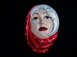 Moon Lady Mask by blythedragon