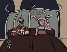 Power Rangers: Marital Woes by comicalclare