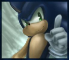 Nice Smile Sonic by Blailver