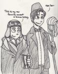 The Time Lord and the Unicorn by NEOmi-triX
