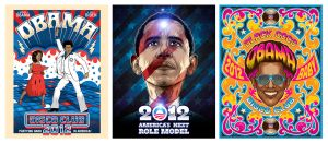 Obama Posters 2012 by roberlan