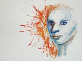 The Girl Whose Hair Played with Fire by SanguineEpitaph