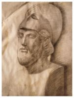 Pericles Bust Study - Old Works by SILENTJUSTICE