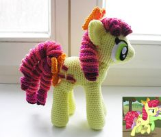 Candy Twirl Amigurumi other view by LeFay00