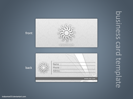 Business card template by TraBaNtzeL23