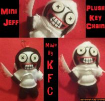 Another Mini Jeff Plush Keychain by KaleidoscopicFungi