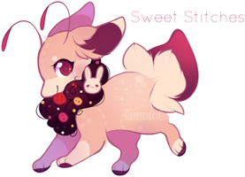 Bealet Auction - SWEET STITCHES [ CLOSED ] by hunniebuzz