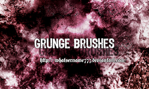 Grunge Brushes. by Whatsername777