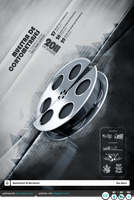 Muestra Cortos -Poster- by addrianMB