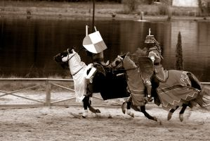 The Joust - 2 of 4 by lucifie