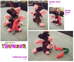 happy bday thunder by zookydragon