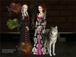 Queen and The Hand. by BlackRoseOfSummer