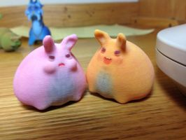 Bunnies, 3D Printers, and Toys! Oh my! by TheWonderCat