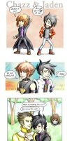YGO GX: Everyone Loves Chazz by foxysquid