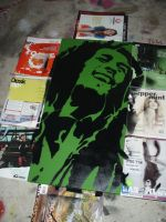 Triptych Part 1 - Bob Marley by artbyabbey