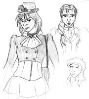 Mrs Drake Dev Sketches by the-gneech
