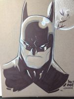 Batman by biroons
