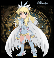 Blaabys_the Girl of the Time_ by G-Blue16