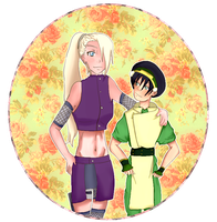 Toph x Ino by PlushieHime