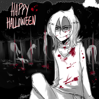 OC - Happy Halloween by Rika-Wawa