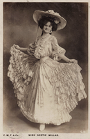 vintage actress gertie miller by wotdoin