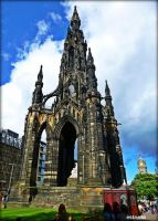 Walter Scott Monument by Estruda