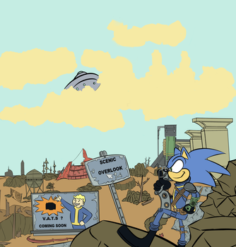 Fallout 3 Sonic Commission by pocketzombie11