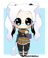 Custom Adoptable Commission: fluffysheepchan by MechanicMocha