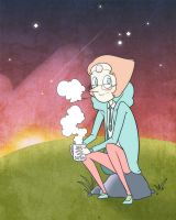 Steven Universe pearl by carumbell