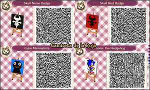 QR CODE ACNL: Coleccion Wii 3 by One-Eco