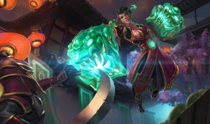Jade Fang Vi Concept Splash by HeadcrabeD