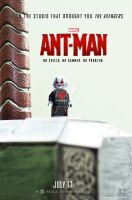 Lego Ant-Man Poster by Jbressi