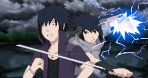 Sasuke vs Sasuke Road to Ninja by EmUchiha