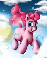 Pinkie Pie's Party in the Sky by km100t