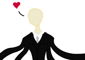 Slender man Loves You by Taryndedoo