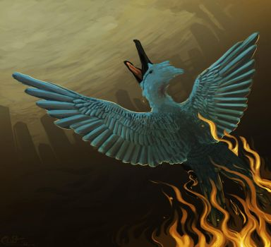 Mockingjay by Artisticaviary