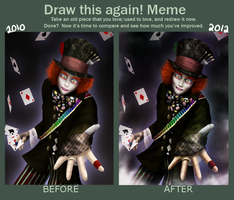 Draw this Again - Mad Hatter by Allegro-Designs