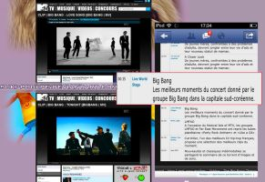 Clip of the group BIGBANG MTV France on the site. by Suki-Poulpe