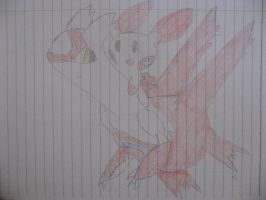 Latias And Plusle by ThatHinchtownFan