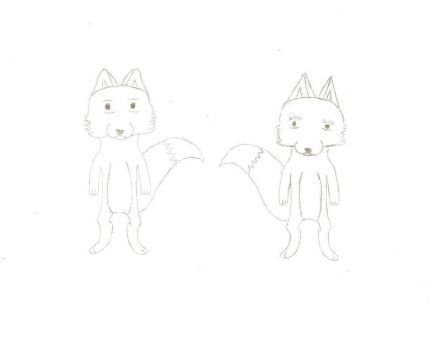 A Tale of Two Foxes (Story) (WIP) by WhispricusFox