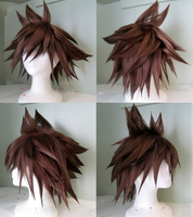 Sora Wig - KH2 by NSCosplay